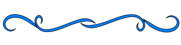 Decorative-Line-Blue-Transparent