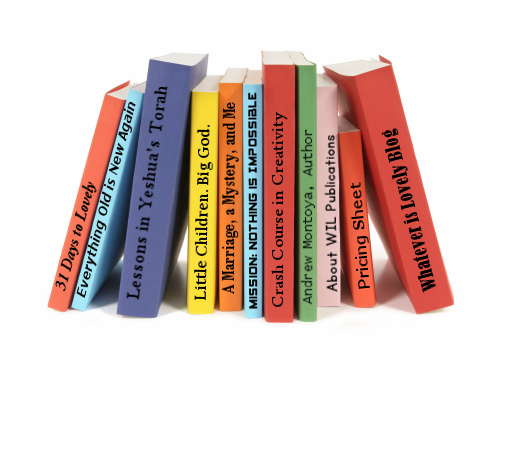 book spines2